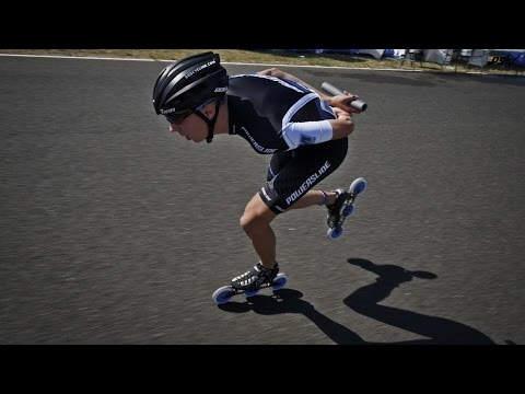 24 hours Le Mans LAP RECORD Triskating - Bart Swings - Powerslide Race Inline Skates