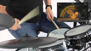Roland V-Drums Friend Jam performance with Craig Blundell - Rock Track