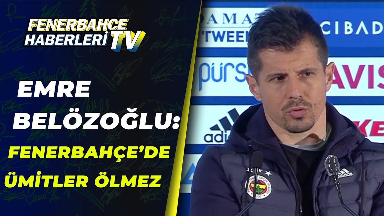 """Emre Belözoğlu'ndan Şampiyonluk Açıklaması:""""Fenerbahçe'de Ümitler Ölmez"""" / Fenerbahçe 3-1 Gaziantep"""