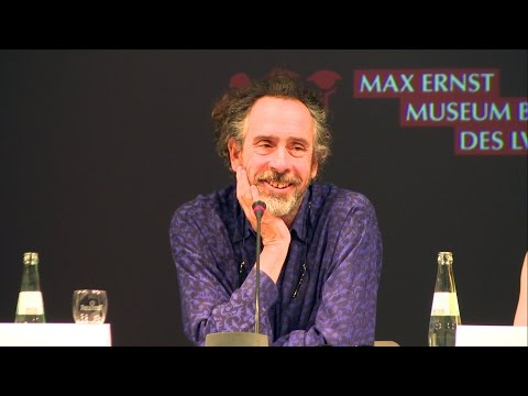 Full Tim Burton Press Conference