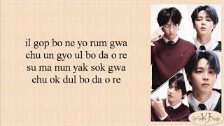 BTS (방탄소년단) Jimin & V - Friends (Easy Lyrics)