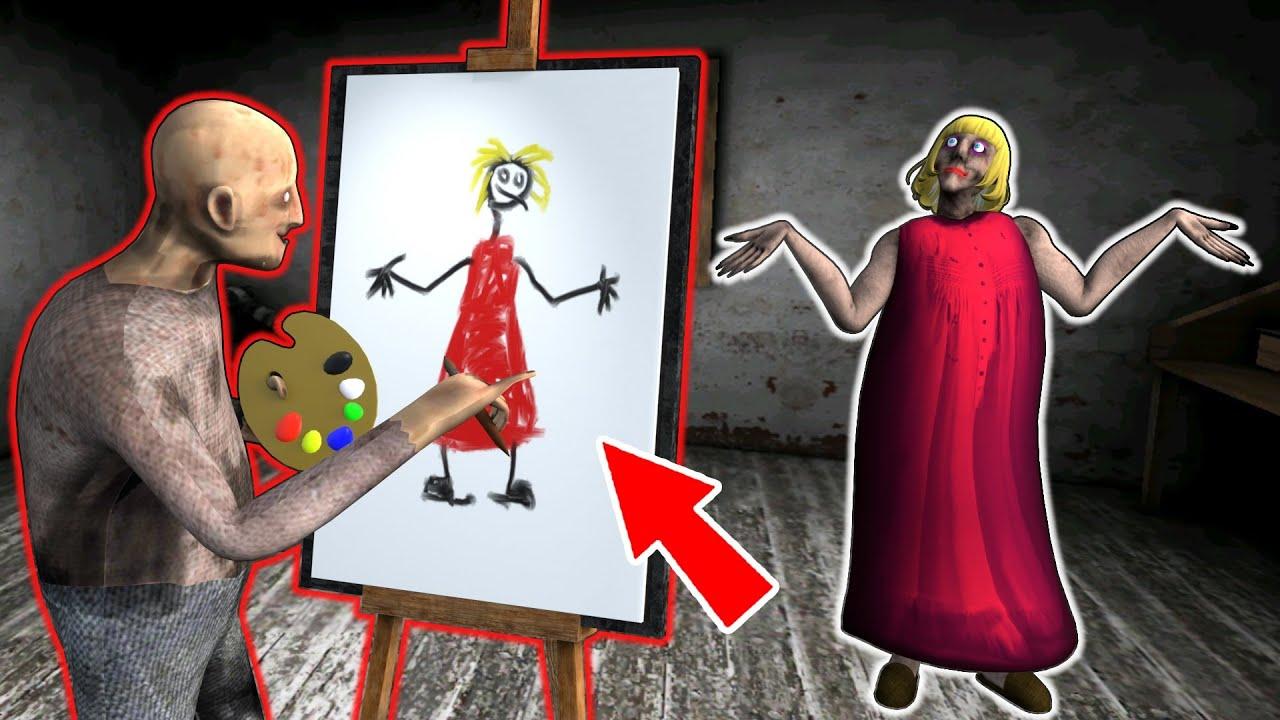 New Granny vs Grandpa vs Painting - funny horror animation parody (p.90)