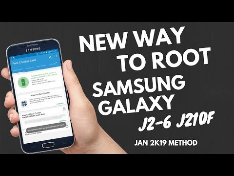 How To Root Samsung J2 Pro J210F