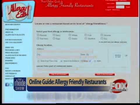 Online guide finds allergy-friendly restaurants