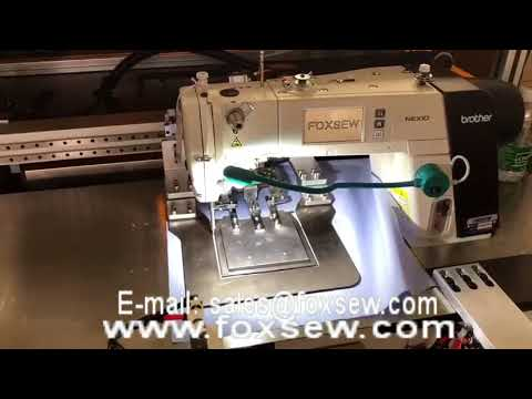 Automatic Pocket Setter For Shirts