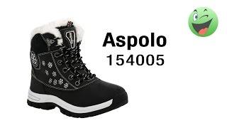 Ботинки Aspolo 154005 черные, размер 36-й - распаковка (unboxing) и краткий обзор