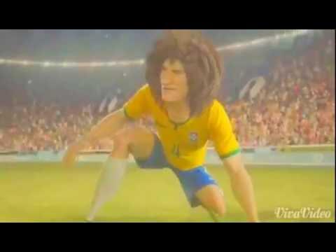 การ์ตูนบอลโลก 2014 เพลงบอลโลก2014 - YouTube