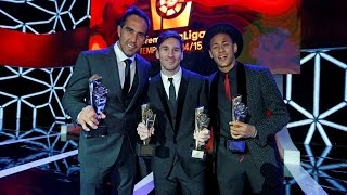 Success for FC Barcelona at the LFP Gala Awards
