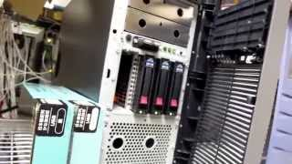 HP ProLiant replace HDD Hot Swap