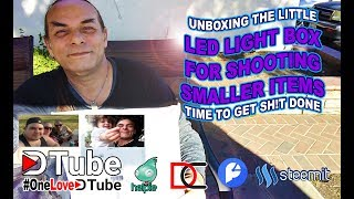 Unboxing The Little LED Light Box for Shooting Smaller - Upcoming eBay and Amazon Business...