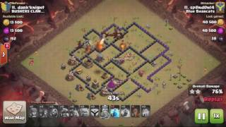 Clash of Clans TH8 GoBoDragon 3 STAR ATTACK