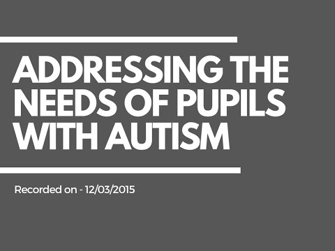 Teaching Assistants SEN Resources | Addressing the needs of pupils with Autism