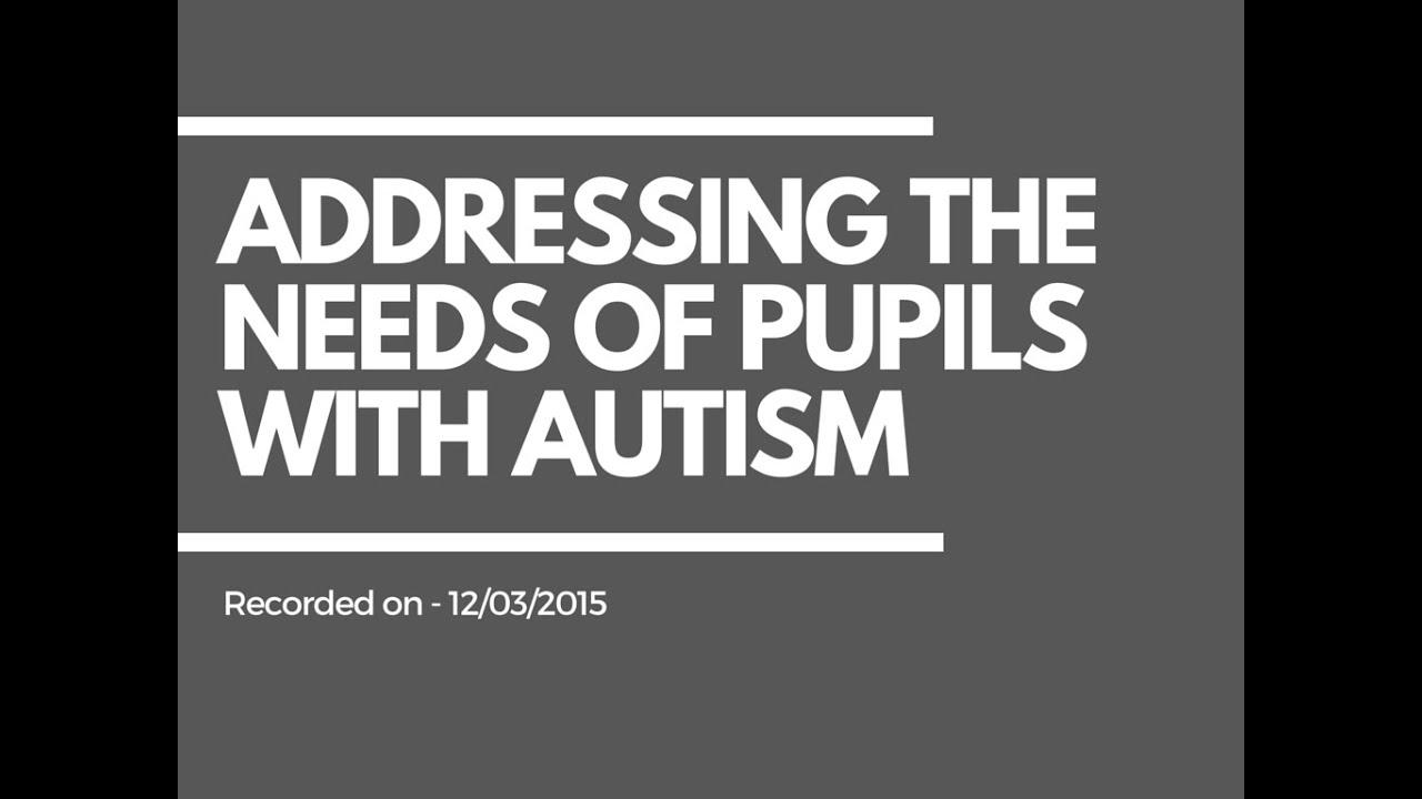 teaching assistants sen resources addressing the needs of pupils teaching assistants sen resources addressing the needs of pupils autism