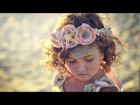 My Little Mermaid (Mermaid Costume for a Little Girl)  sc 1 st  YouTube & My Little Mermaid (Mermaid Costume for a Little Girl) - YouTube