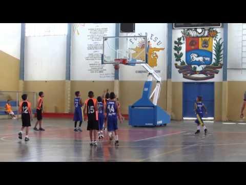 Amistoso Premini Basket Asoc. de Baloncesto Sucre vs Esc. Jhonatan Machado
