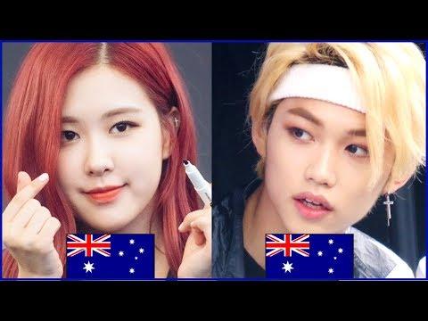8  KPOP IDOLS FROM AUSTRALIA
