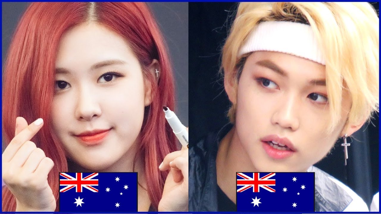 8 Kpop Idols From Australia Youtube