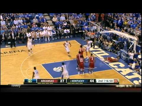 [1.17.12] Anthony Davis - 27 Points (7 Blocks) Vs Arkansas (Complete Highlights)