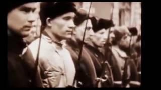 Документальные кадры первых дней Великой Отечественной Войны.