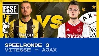 EDIVISIE | Speelronde 3: Vitesse - Ajax