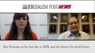 Video Abe Foxman on his last day at ADL and the future for world Jewry download MP3, 3GP, MP4, WEBM, AVI, FLV Juli 2018
