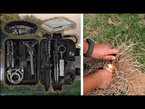 11 in 1 Survival Kit!! Can You Survive? Unboxing, Test, and Review.