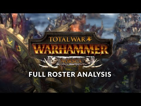 Total War: Warhammer - Norsca DLC Early Look 02 - All Norsca Units Overview (Full Roster Analysis)