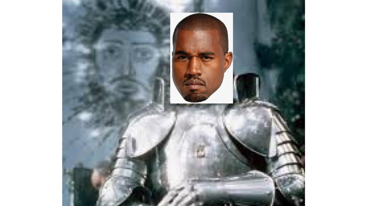 Kanye has plate mail? Medieval DONDA release event? I certainly hope so.