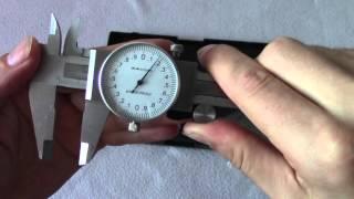 Металлический Штангенциркуль стрелочный ШЦ - 150 мм с глубиномером.(Штангенциркуль стрелочный ШЦ - 150 мм с глубиномером металлический. ---------------------------------------------------------------------------..., 2016-04-21T13:35:25.000Z)