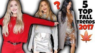 TOP 5 Fall Trends + Kim Kardashian Fashion Conspiracy