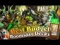 Best Budget Hearthstone Decks: Cheap Decks for Hearthstone Boomsday Laddering. Part 2