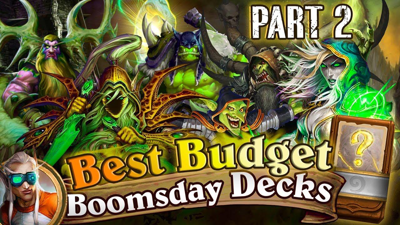 Best Budget Hearthstone Decks: Cheap Decks for Hearthstone Boomsday  Laddering  Part 2