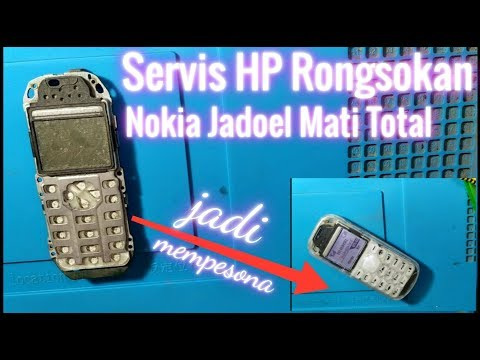 Cara Memperbaiki Nokia TA 1034 1134 Mati Total | Nokia 105  TA 1034 1134 Matot Short Solution.