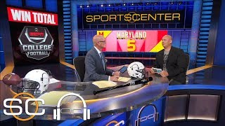 Stanford Steve gives his college football over/under picks   SC with SVP   ESPN