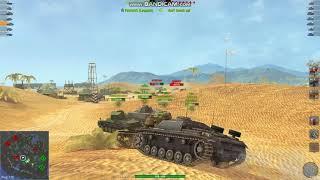 KV-1 gameplay ( WOT Blitz Masters)