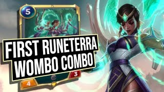 THE FIRST WOMBO COMBO!! | Legends of Runeterra | League of Legends Card Game
