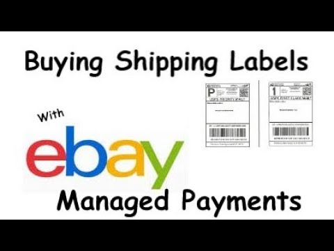 How to Pay For a Shipping Label With ebay Managed Payments   ebay Step by Step
