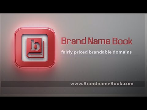 Brand Name Book -  Unique Brand able Domain Names
