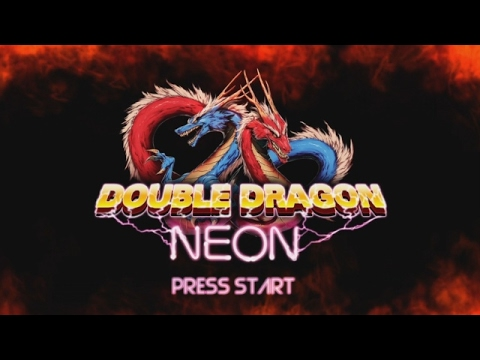 Let S Play Double Dragon Neon Part 1 Youtube