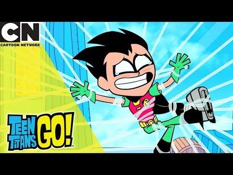 Teen Titans Go!   Pranking To The Extreme   Cartoon Network UK 🇬🇧