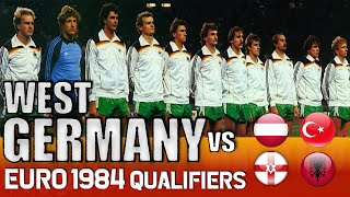 West Germany Euro 1984 Qualification All Matches Highlights Road to France