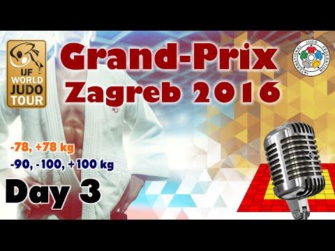 Judo Grand-Prix Zagreb 2016: Day 3