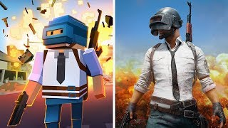 Evolution of Battle Royale Games on Android - iOS (Online Multiplayer)