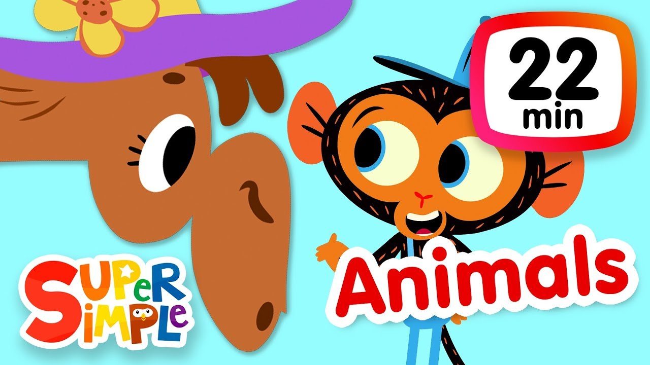 The Super Simple Show Animals Kids Songs Cartoons