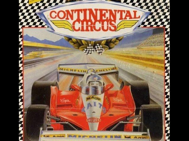 🏁 #6 Gramy Commodore 64 | CONTINENTAL CIRCUS | 1987