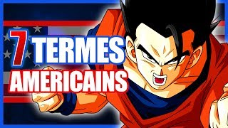 7 TERMES ISSUS DE LA VERSION US DE DRAGON BALL - DBTIMES #20