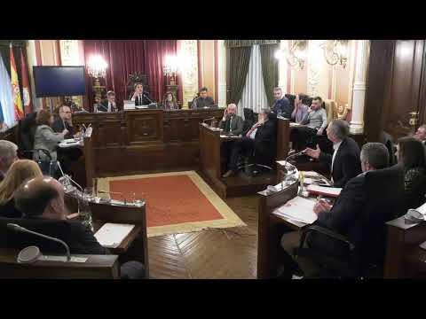 Pleno Ordinario del Concello de Ourense - 7 de Febrero de 2020