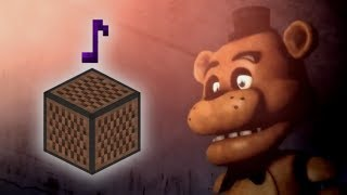 Cancion De Five Nights At Freddy´s   En Bloques De Nota!! - MINECRAFT  (VERSION GUITARRA) Video