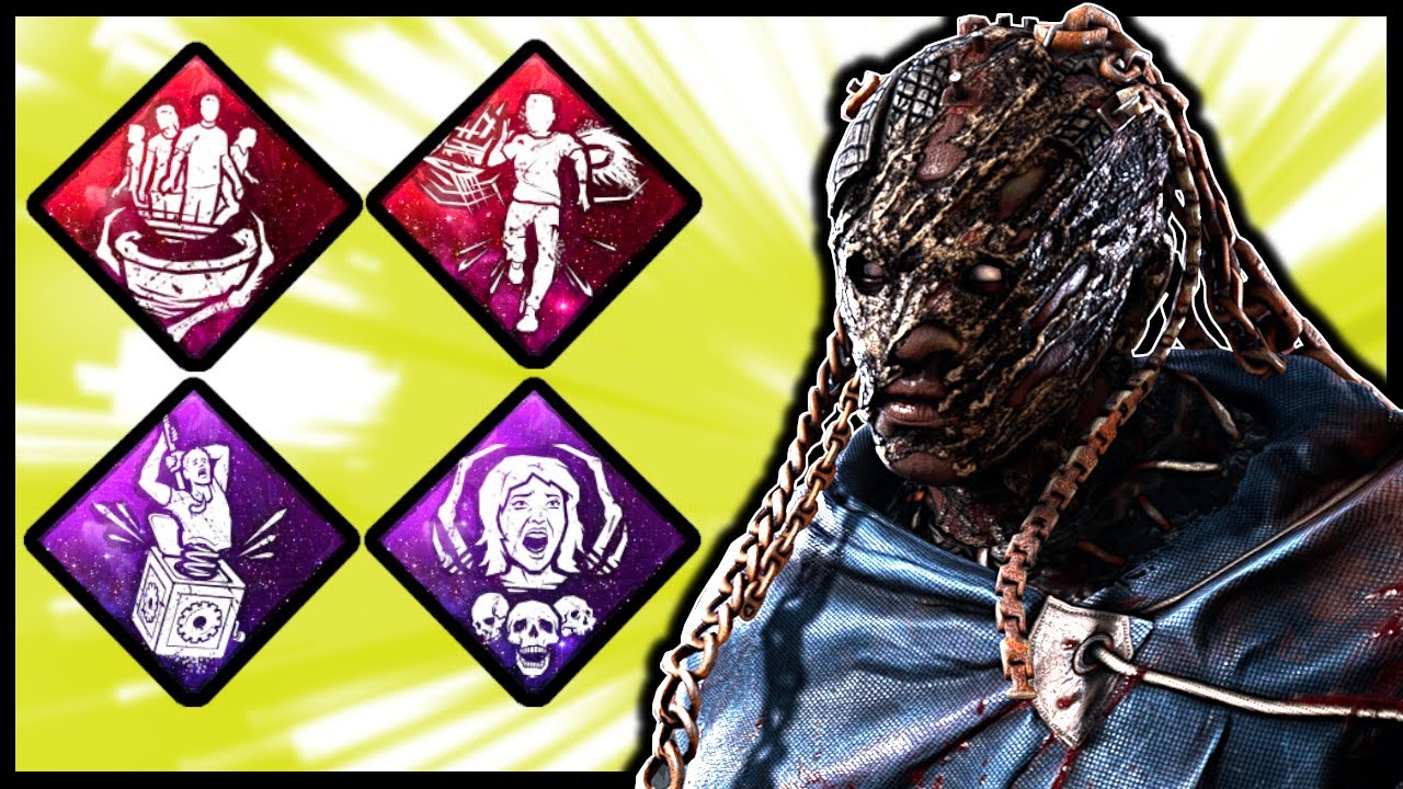 RED'S PURE AGRO WRAITH BUILD -  Dead by Daylight Resident Evil