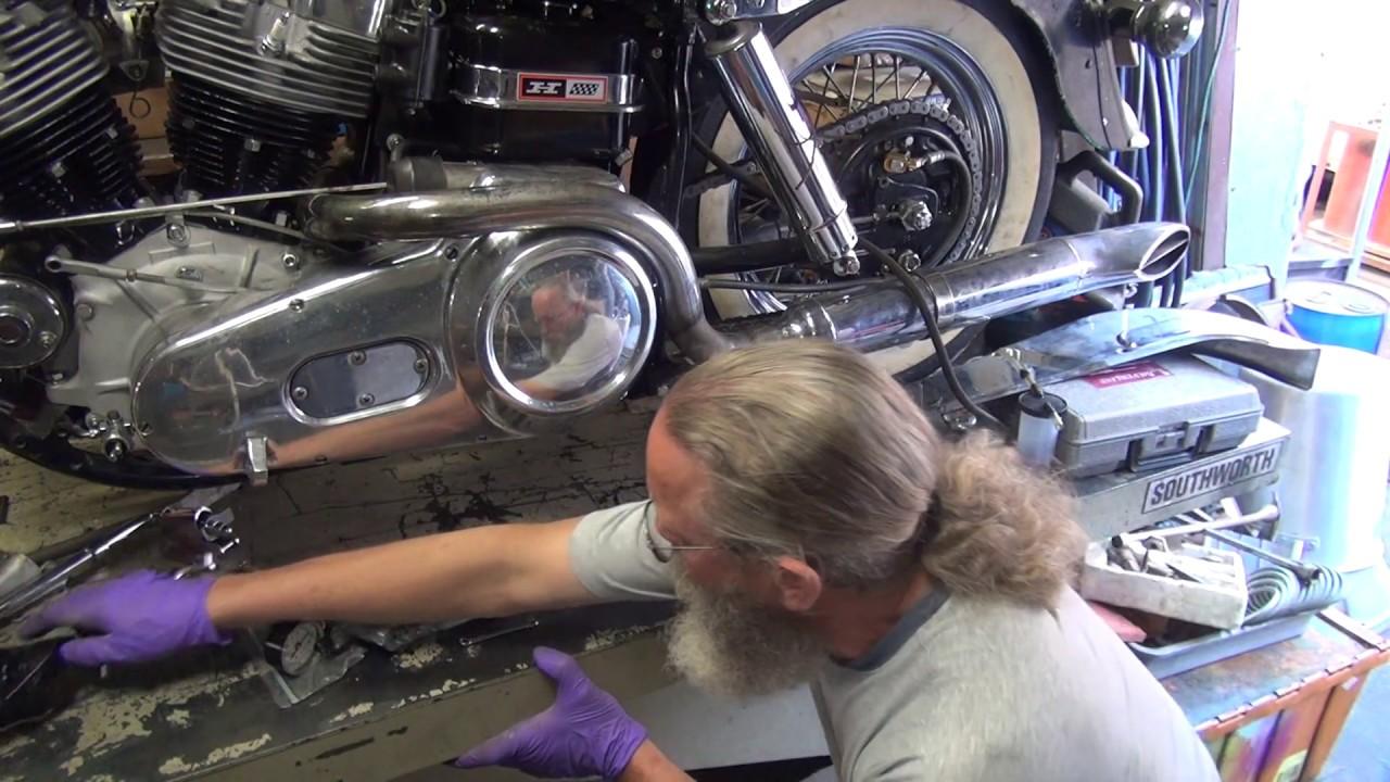 1967 74ci shovelhead #183 flh bike assembly transmission rebuild harley  craigslist tatro machine